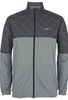 Erke - Erke Full Zip Sweatshirt Dark Grey