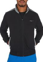 Erke - Erke Full Zip Sweatshirt Black