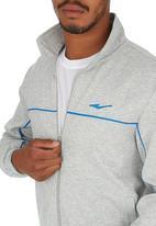 Erke - Erke Full Zip Sweatshirt Pale Grey