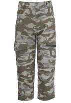 Retro Fire - Army Pants Grey