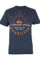Quiksilver - Rising Sun Tee Navy
