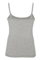 Rebel Republic - Printed Vest Grey