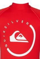 Quiksilver - Happy Monday Boys - Rashvest Red