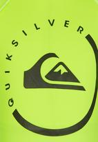 Quiksilver - Happy Mondays Toddlers - Rashvest Yellow
