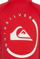 Quiksilver - Happy Mondays Toddlers - Rashvest Red