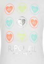 Rip Curl - Frill Sleeve T-shirt White