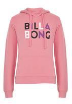Billabong  - Jumpin Hoodie Mid Pink