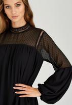 STYLE REPUBLIC - Bell Sleeve Dress Black