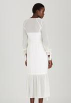 STYLE REPUBLIC - Tiered Maxi Dress Milk