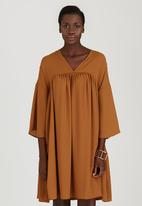 STYLE REPUBLIC - Boho Dress Mid Brown