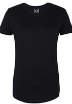 Silent Theory - Pigment Tail Tee Black