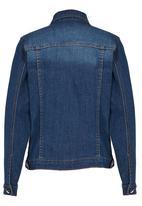 POP CANDY - Denim Jacket Mid Blue