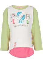 Hooligans - Happy 2 Be Different Top Multi-colour