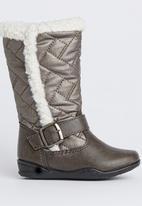 Awol - Buckle Boot Dark Grey