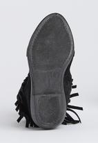 Awol - Fringe Boot Black