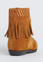Awol - Fringe Boot Tan