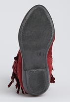 Awol - Fringe Boot Dark Red