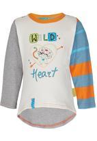 Hooligans - Wild Heart Top Multi-colour