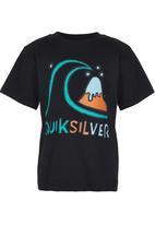 Quiksilver - Bubble Logo Toddlers Black