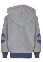 Hooligans - Mane Man Hooded Zip Up Jacket Grey
