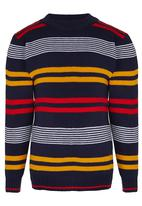 Twin Clothing - V-Neck Tee Navy