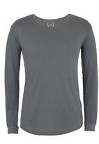Silent Theory - L/S Pigment Tail Tee Grey