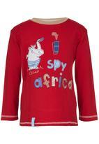 Hooligans - I Spy  Africa Top Red