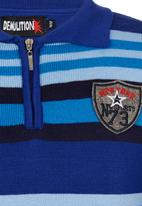 Twin Clothing - Golfer Top Mid Blue