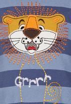 Hooligans - Grr Lion   Top Navy
