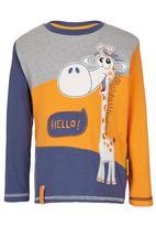 Hooligans - Hello Giraffe  Top Multi-colour