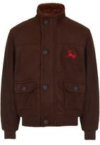 Twin Clothing - Bomber Jacket Mid Brown
