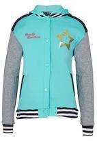 Twin Clothing - Baseball Jacket Light Green