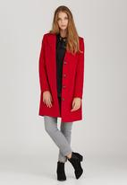 edit - The Classic Coat Red