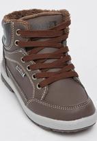 SOVIET - K Wembley Sneaker Dark Brown