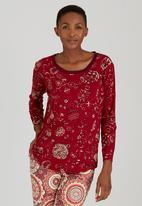 Maya Prass - Ayala Pullover Dark Red