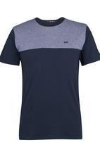 Lee  - Block Panel T-Shirt Navy