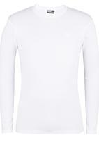 Lee  - Academic L/S T-Shirt White