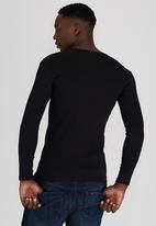 Lee  - Academic L/S T-Shirt Black