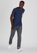 Lee  - King Pocket T-Shirt Navy
