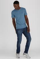 Lee  - No Brainer T-Shirt Mid Grey