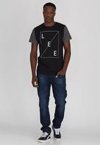 Lee  - Contrast Sleeves T-Shirt Black