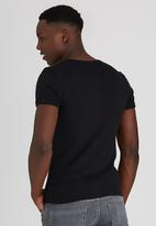 Lee  - Academic S/S T-Shirt Black