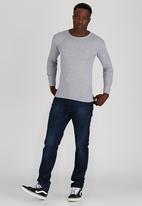 Lee  - Academic L/S T-Shirt Grey