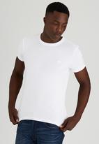 Lee  - Academic S/S T-Shirt White