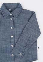 Bounty Mini Wear - Classic Chambray Shirt Blue