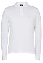 POLO - Classic Pique LS Custom Fit Golfer White