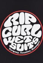 Rip Curl - Wettie  Tee Black