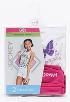 Jockey - Girls 2 Pack New French Cut Panty Mid Pink