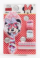 Character Fashion - Minnie Mouse Brush Combo Set Multi-colour