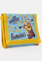 Character Fashion - Minions Wallet Blue and Yellow